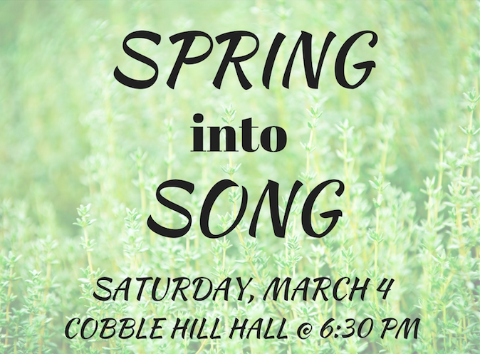 Spring Into Song
