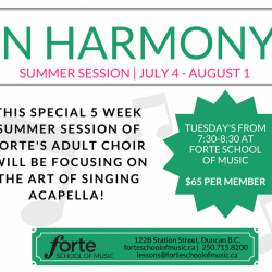 In Harmony Summer Session