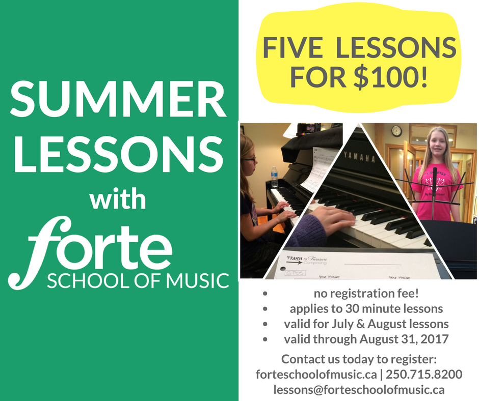 Summer Music Lesson