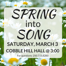 Spring Into Song 2018