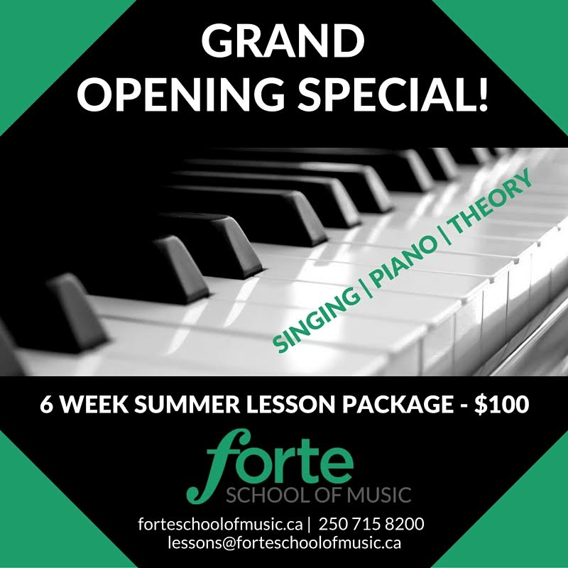 Summer Lesson Special
