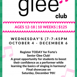 Senior Glee Fall 2017