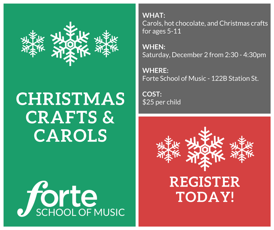Christmas Carols and Christmas Crafts