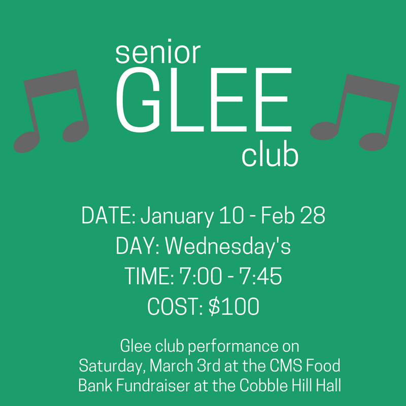 Winter Glee Club