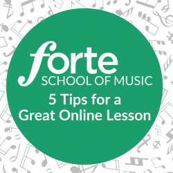 5 tips for a great online lesson