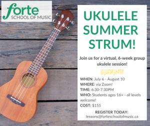 Ukulele Summer Strum